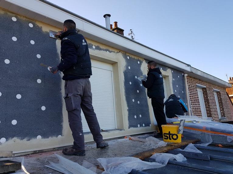 Nos chantiers sur l'isolation extérieure / intérieure de votre maison